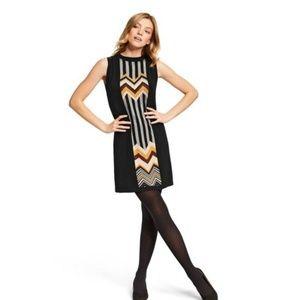 Missoni for Target Zig Zag Black Patchwork Dress